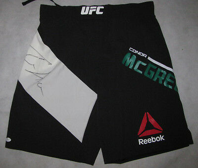 CONOR McGREGOR Hand Signed Official UFC Fight Trunks +JSA COA UFC202 BUY GENUINE