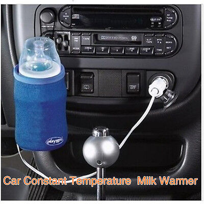 Portable Baby Food Milk Bottle Cup Warmer Heater Cover For Auto Travel
