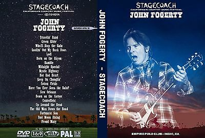 John Fogerty. 2016. Live At Empire Polo Club In Indio. Pro - Shot. Dvd.