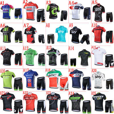 New outdoor cycling jersey and shorts Set/Kit ciclismo Bike racing clothing 2017