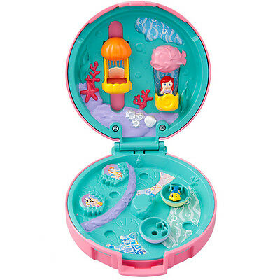 New 2016 Tokyo Disney Resort Toy Compact Doll House Ariel The Little Mermaid