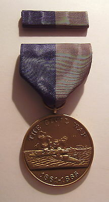 U.S. Navy Civil War Campaign Military Medal with RIBBON