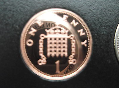 Rare Last Issue 2008  1P Proof Coin, Mint Perfect. Low Mintage Of Proofs
