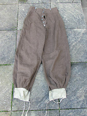 Original WW2 French Army Spahis Trousers with belt loops