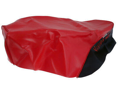 Seat cover red black for Honda Vision