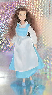 Disney Princess belle Doll Beauty and the beast dressed with shoes good conditio