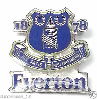 Everton Badge Pin  Official Football Gifts