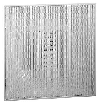 "Hart Cooley HVAC Diffuser, 12"" CBPS TBar Perforated Supply White NEW"