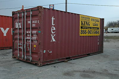 20ft Standard Cargo Steel Shipping Container