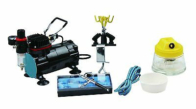 Kit Complet Aerographie Professionnel Kit Airbrush Compresseur