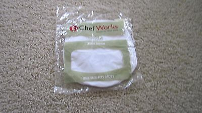 CHEF WORKS White  New in Package BEANIE BNWH one size fits most
