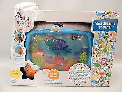 Baby Einstein Sea Dreams Soother Crib Toy, Lights Up and Plays Music.