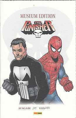 PUNISHER 2. Serie # 1 MUSEUM EDITION - SPIDER-MAN - Lim. 499 - PANINI 2002 - TOP