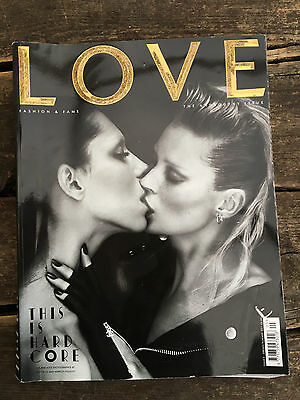 LOVE magazine Issue 5 Spring/Summer 2011 Androgyny Issue fashion collectors