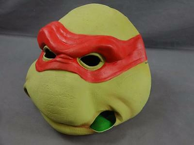 1990 Don Post TMNT Teenage Mutant Ninja Turtles Latex Rubber Mask Lot of 2 #1509
