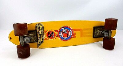 Vintage 1970's Bahne Skateboard ~ Complete ~ Retro Stickers ~ 24""