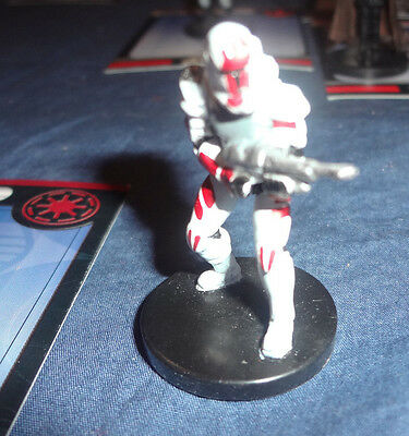 Star Wars Miniatures Game Figure with card Universe Commando Sev 36/60 2006
