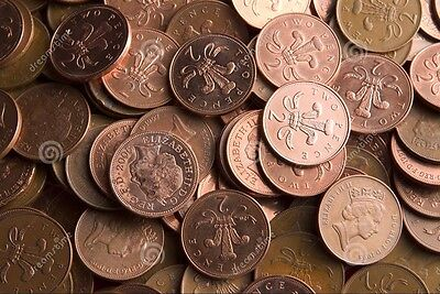 TWO PENCE 2p VERY RARE COINS! UK Dates 1971 - 1980