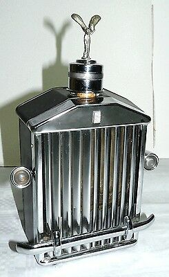 Rolls-Royce Radiator shaped classic drinks decanter Chr front 1960's/70's. 997