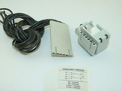 ABB S5N Auxiliary Switch 6a 240v 3a 480v Used