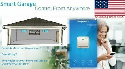 Smartphone Garage Door Opener - Wifi Enabled App Control for iPhone or Android