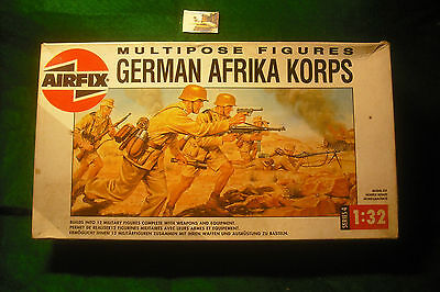 Soldatini Toy Soldiers Airfix 1988 Afrika Korps ref 04581 plastica scala 1:32
