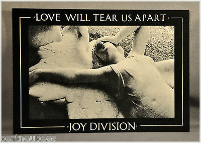 JOY DIVISION Love Will... Vtg UK Postcard(s) Orig and Mint x5 pack of FIVE PC's
