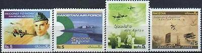 Pakistan Stamps 2005 Pakistan Air Force Breaking the Barriers F16 MNH