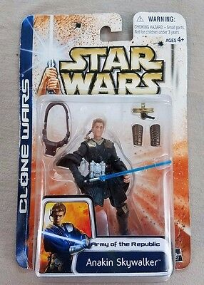Star Wars Clone Wars Army of the Republic Anakin Skywalker #42 Collector Set GG8