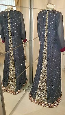 Bollywood Anarkali Churidar Pakistani Lengha Suit Salwar Kameez Asian Wedding