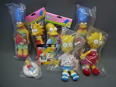 LOT 1990's 90's Collectible Nostalgia Simpsons Burger King Promo Happy Meal Toys