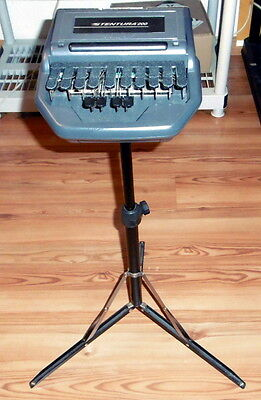 Stentura 200 Stenograph Steno Machine Court Reporting Set Kit As Is