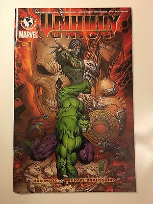 Unholy Union #1 (2007 Top Cow/marvel) Nm Dr. Strange Hulk Darkness Witchblade