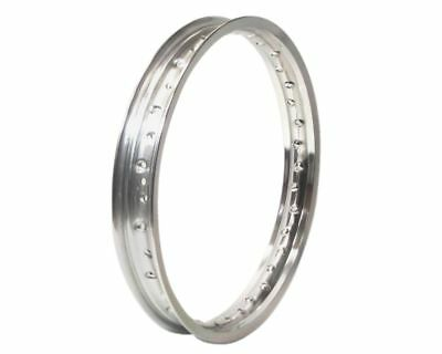 Rim 1.40-17 universal 3.00mm chrome motorcycle, moped