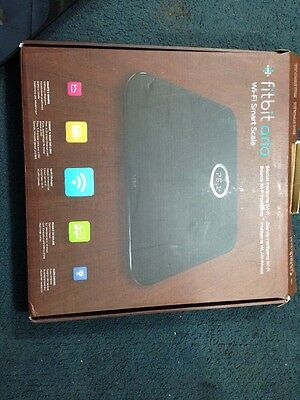 Fitbit Aria Wifi Smart Body Analyser Scales Black