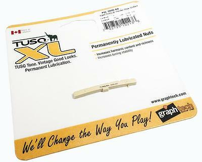 GRAPH TECH Slotted Aged Tusq XL Nut PQL-5000-AG Fits FENDER STRATOCASTER