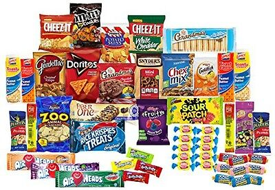 Cornucopia Brands Care Package with 50 Sweet & Salty Snacks, Variety Snack Box