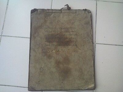"""Rare Old Burma Tribe""""YAWNG"""" Story Cultural on Mulberry Paper Book Manuscript"""