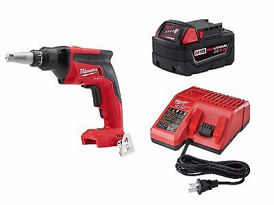 Milwaukee 2866-20 M18 FUEL Drywall Screw Gun + One 5.0AH Battery Kit w/ Charger