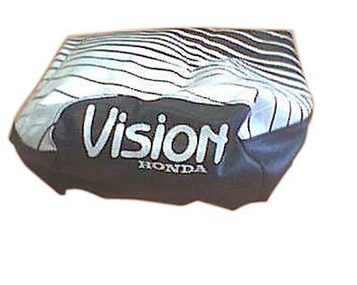 Seat cover black and white for Honda Vision