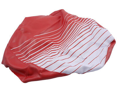 Seat cover red white for Honda Vision
