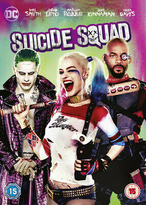 Suicide Squad DVD (2016) Will Smith, Ayer (DIR) cert 15 FREE Shipping, Save £s