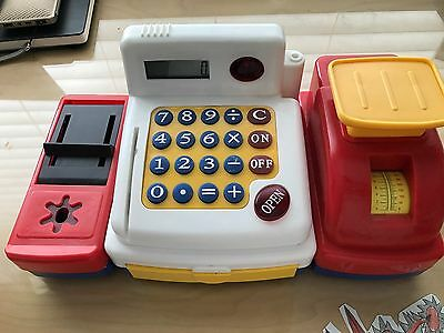 Toy Cash Register Kids Play Educational Toy Birthday Gift Easter Gift