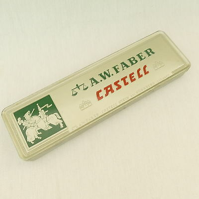 13 Drawing Drafting Pencils Staedtler Venus Eagle in a Faber Castell Tin Box