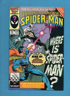 The Spectacular Spider-Man #117 Marvel Comics August 1986