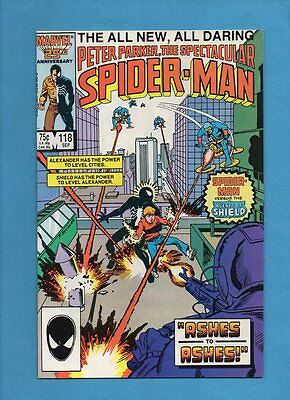 The Spectacular Spider-Man #118 Marvel Comics September 1986