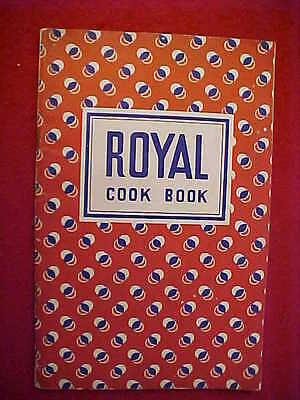 1937 Royal Baking Powder Booklet With 65 Pages Including Recipes