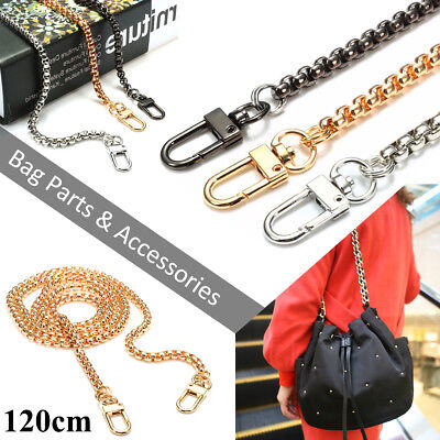 6 Type Replacement Flat &Round Chain For Handbag Purse Shoulder Strapping Bag