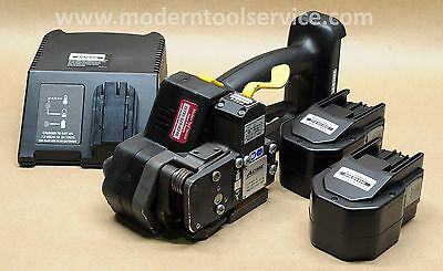 """*SERVICED* FROMM P-324 5/8"""" 14.4V battery strapping tool orgapack signode ort"""