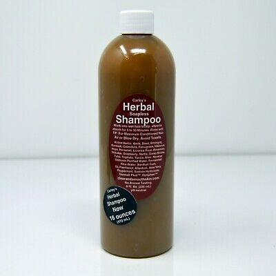Herbal Soapless Shampoo